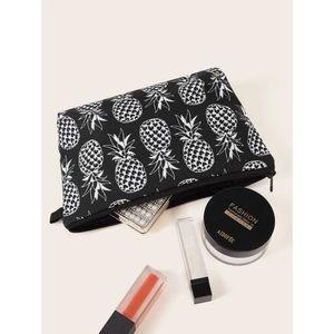 Pineapple Makeup Bag